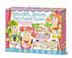 Spoon Fairy Puppet Theater  Price $19.95