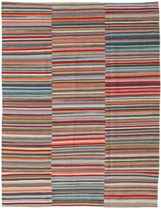 East Urban Home Contemporary Red/Orange/Blue Area Rug Rug Size: Square Blue Orange, Red And Blue, Villa, Blue Area Rugs, Primary Colors, Rug Size, Beige, Contemporary, Power Loom