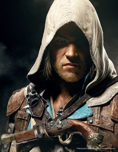 "Edward Kenway from Ubisoft's ""Assassin's Creed IV: Black Flag"""