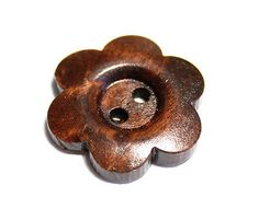 10 x wood #sewing #button #flower 24 mm 2.4 cm,  View more on the LINK: http://www.zeppy.io/product/gb/2/221511380354/