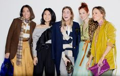 """#NYFW: Tartan, Tulle, Stripes, Camo…""""Last season we asked some friends to wear our collection and we loved how each person brought his and her own personal style to the pieces, so we decided to do the same for fall."""""""