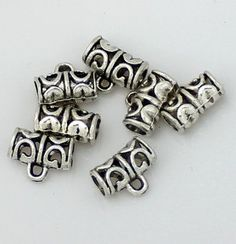 30pcs--Hanger link, Antique Silver, 8.5x11.5mm Metal Beads, Antique Silver, Hanger, Cufflinks, Trending Outfits, Antiques, Unique Jewelry, Handmade Gifts, Etsy