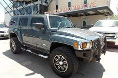 MARTINA's new 2006 Hummer H3! Congratulations and best wishes from Southpoint Automotive and David Rayos.