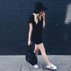 Vários looks do melhor do estilo all black para se inspirar!
