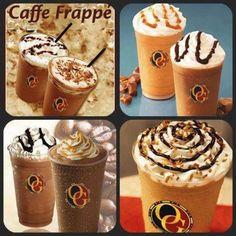 Iced Coffee Caffe Frappe
