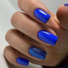 New nail art trends bring you unlimited nail design inspiration - Page 74 of 117 - Inspiration Diary Long Square Nails, Nailart, May Nails, Best Acrylic Nails, Cute Nail Designs, Art Designs, Nagel Gel, Stylish Nails, Blue Nails