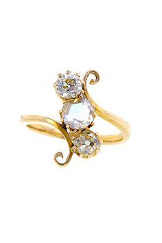 Doyle & Doyle vintage engagement ring... I love the unique-ness