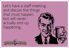 LMAO! I do so much in a day and cant understand how others cant get their work done...maybe cuz all they do is gossip the day away!