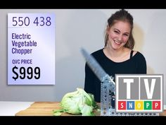 Simone Giertz Creates a Fake Television Commercial for Her Nightmarish Chopping Machine