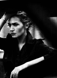 Kate Winslet by Peter Lindbergh for Harper's Bazaar