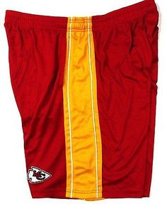 f98fb053ff9 Kansas City Chiefs Majestic Synthetic Panel Shorts Size 2XL