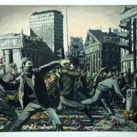 Some inside works by Banksy