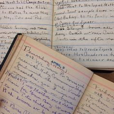 How an editor's great-aunt inspired the creation of One Line a Day journals.
