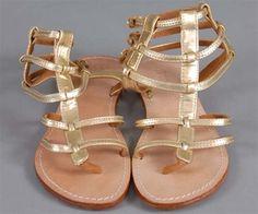 Mystique greek gold sandals
