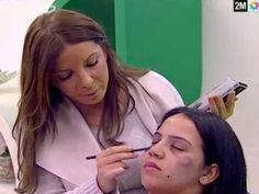 Televisão marroquina ensina maquiagem para marcas de agressão