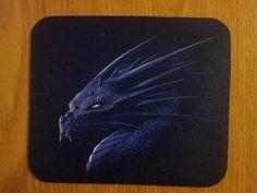 Dragon Mouse Pad - Purple Dragon
