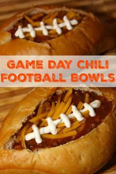 Game Day Chili Fille
