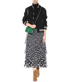 mytheresa.com - Classic Monogram embossed leather shoulder bag - Luxury Fashion for Women / Designer clothing, shoes, bags