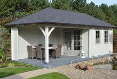 nowak bvba een mooi blokhut tuinhuis in cottage of landelijke stijl met hout in 33 mm. Eigen werkhuis. vakkundige afwerking