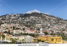 FUNCHAL, MADEIRA - SEPTEMBER 20, 2016: Seafront hotels in Funchal, Madeira