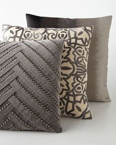 Marlena Pillows. Home Accessories We Love at Design Connection, Inc. | Kansas City Interior Design http://www.DesignConnectionInc.com./Blog