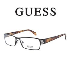 b245fab5c1  Guess 1591 Black Tortoise - These  glasses have a matte black exterior  with some