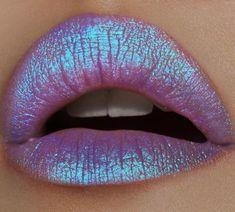 Lime Crime Diamond Crushers Iridescent Liquid Lip Topper, Trip - Light Purple - Strawberry Scent - Enhances Mattes - For Face And Body - Wear Alone Or Over Lipstick - Vegan Metallic Matte Lipstick, Glitter Lipstick, Lipstick Art, Lipgloss, Liquid Lipstick, Matte Lipsticks, Iridescent Lipstick, Lipstick Queen, Purple Lipstick