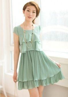 vestidos juveniles cortos muy lindos