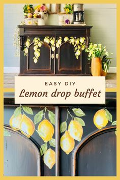 Diy Furniture Projects, My Furniture, Repurposed Furniture, Painted Furniture, Diy Dresser Makeover, Furniture Makeover, Blue Dresser, Iron Orchid Designs, How To Squeeze Lemons