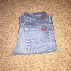 Seven Jeans (Skinny) Seven For All Mankind, size 24 7 for all Mankind Jeans Skinny