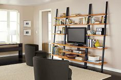 Room and Board Gallery Leaning Media Stand in Lower Manhattan, New York, NY, USA ~ Krrb