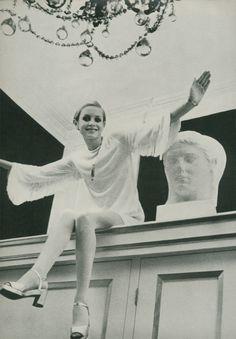 Twiggy by Beaton, 1967.