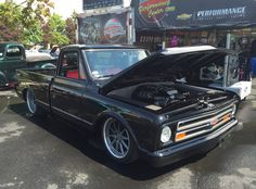 Congrats to Steve Locklin & Danielle Lutz on winning a Designer's Dozen award, at the 2016 Syracuse Nationals, with their amazing LS3-powered '70 Chevy C10 truck on an Art Morrison chassis, JRi coilovers, Wilwood Disc Brakes, and Forgeline RB3C wheels finished with Titanium centers & Polished outers! See more: http://www.forgeline.com/customer_gallery_view.php?cvk=1427 #Forgeline #RB3C #notjustanotherprettywheel #madeinUSA #Chevrolet #Chevy #C10 #DesignersDozen #pickuptruck
