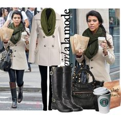 """""""Kourtney Kardashian style"""" by allanasol on Polyvore/  i have to say i love it all its so me"""