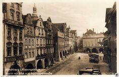 Północno-wschodnia pierzeja Rynku. Berg, Vintage, Vintage Comics