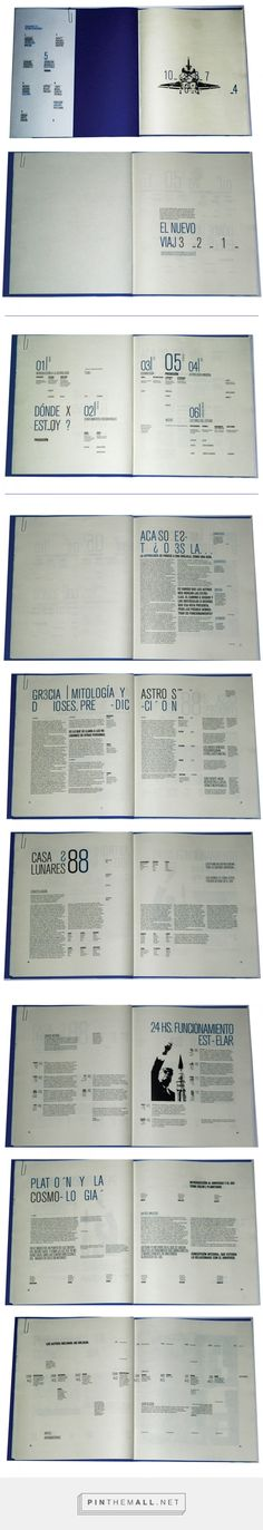PREDICCIÓN - LIBRO OBJETO EDITORIAL - on Behance. tipografia longinotti... -