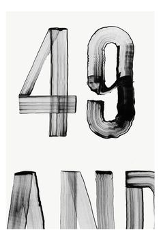 Typography / brush