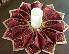 These beautiful trivets are functional and add to your table décor. They are 10 inches diameter. They make wonderful gifts. I will happily make them in any colors so please let me know if you want the ones pictured or email me colors. Christmas Tree Skirts Patterns, Christmas Door Decorations, Christmas Ornament Crafts, Christmas Centerpieces, Christmas Art, Holiday Crafts, Fabric Wreath, Theme Noel, Diy Gifts For Kids