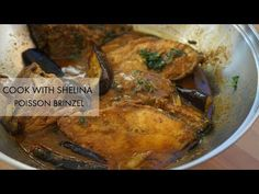 CARI POISSON BRINZEL! TILAPIA CURRY WITH AUBERGINES - YouTube Mauritian Food, Tilapia, Curry, Chicken, Cooking, Youtube, Projects, Eggplant, Fish