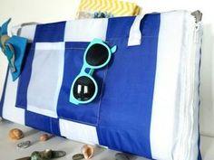 35be2fc7fc5d Нужная вещь для пляжа: шьем сумку-коврик - Ярмарка Мастеров - ручная работа,  handmade