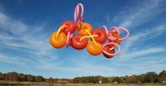 Janice Lee Kelly, Balloon Sculptures, Float, RISD alum, balloon installations and sculptures Lee Kelly, Janice Lee, Floating Balloons, Balloon Installation, Outdoor Sculpture, Conceptual Art, Public Art, Design Art, Sculptures