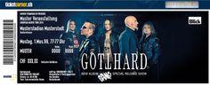 Gotthard - Mit einem Bang! zurück. 11.04.14 in Zürich, Volkshaus. http://www.ticketcorner.ch/Tickets-gotthard.html?affiliate=PTT&doc=artistPages%2Ftickets&fun=artist&action=tickets&erid=1140929&kuid=426927
