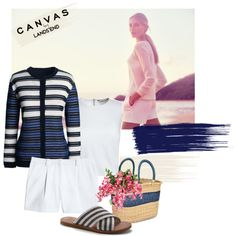 #canvasbylandsend by slutskeran on Polyvore featuring мода, Canvas by Lands' End, Lands' End and Swahili