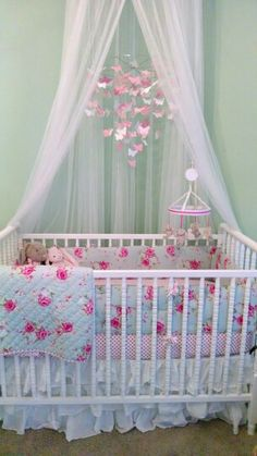 My baby's shabby chic nursery (Pottery Barn Kids)