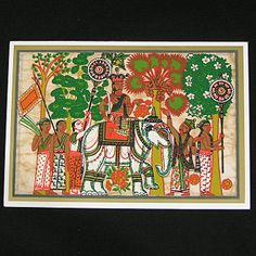Greeting Card- King's Procession