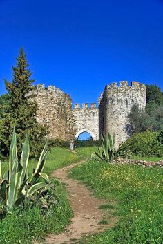 Walls medieval #castle Vila Viçosa - #Portugal