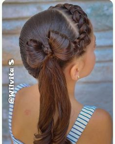 These hair styles will be fairly simple and are great for starters, fast and simple young one hairstyles. Lil Girl Hairstyles, Back To School Hairstyles, Braided Hairstyles, Wedding Hairstyles, Cool Hairstyles, Girl Hair Dos, Natural Hair Styles, Long Hair Styles, Toddler Hair