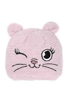 Döll Bohomütze Strick, Hat for Children Beanie Pattern Free, Baby Hat Knitting Pattern, Baby Hats Knitting, Knitted Hats, Crochet Hats, Newborn Crochet Patterns, Baby Patterns, Puppy Hats, Diy Crafts Knitting