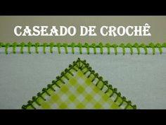 Caseado de Crochê com Picô # Wilma Crochê - YouTube
