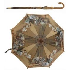Had this beautiful degas ballerina umbrella for years now - good job in this weather!